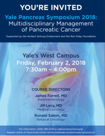Yale Pancreas Symposium 2018: Multidisciplinary Management of Pancreatic Cancer @ Yale West Campus | Orange | Connecticut | United States