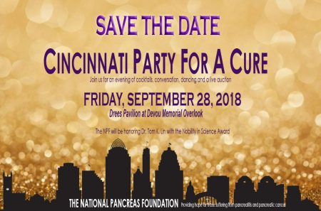 SAVE the DATE - Party for a Cure - Cincinnati @ Drees Pavilion at Devou Memorial Overlook | Covington | Kentucky | United States
