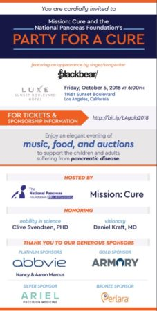 Party for a Cure - Los Angeles @ Luxe Sunset Boulevard Hotel | Los Angeles | California | United States