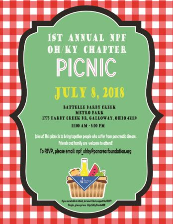 1st Annual NPF Ohio/Kentucky Chapter Picnic @ Battelle Darby Creek Metro Park 1775 Darby Creek Dr, Galloway, Ohio 43119