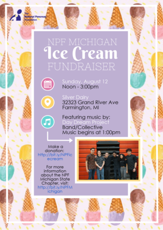 NPF Michigan Ice Cream Fundraiser @ Silver Dairy | Farmington | Michigan | United States