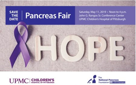 Pancreas Fair @ John G. Rangos Sr. Conference Center