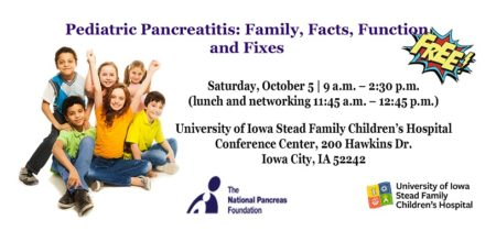 Pediatric Pancreatitis: Family, Facts, Function, and Fixes @ University of Iowa Stead Family Children's Hospital
