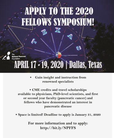 Fellows Symposium - The National Pancreas Foundation