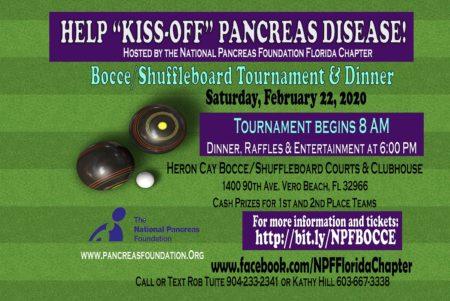 NPF Florida Chapter Bocce/Shuffleboard Tournament @ Heron Cay Bocce/Shuffleboard Courts and Clubhouse