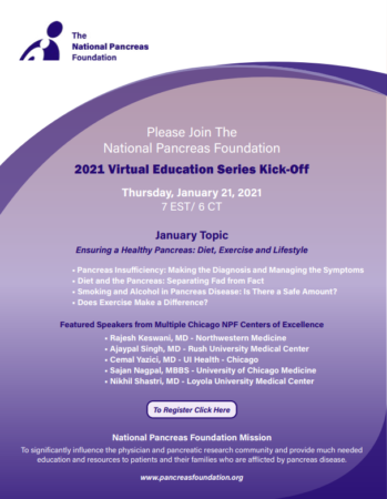 2021 Virtual Education Series Kick-Off | Ensuring a Healthy Pancreas: Diet, Exercise and Lifestyle